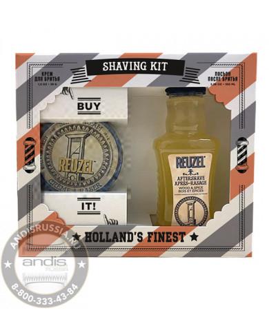 Набор Крем для бритья + Лосьон после бритья Reuzel Shaving Kit 35 гр + 100 мл REUPR3