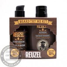 Набор для ухода за бородой Масло и кондиционер для бороды Reuzel 100 + 50 мл Try Me Kit Beard